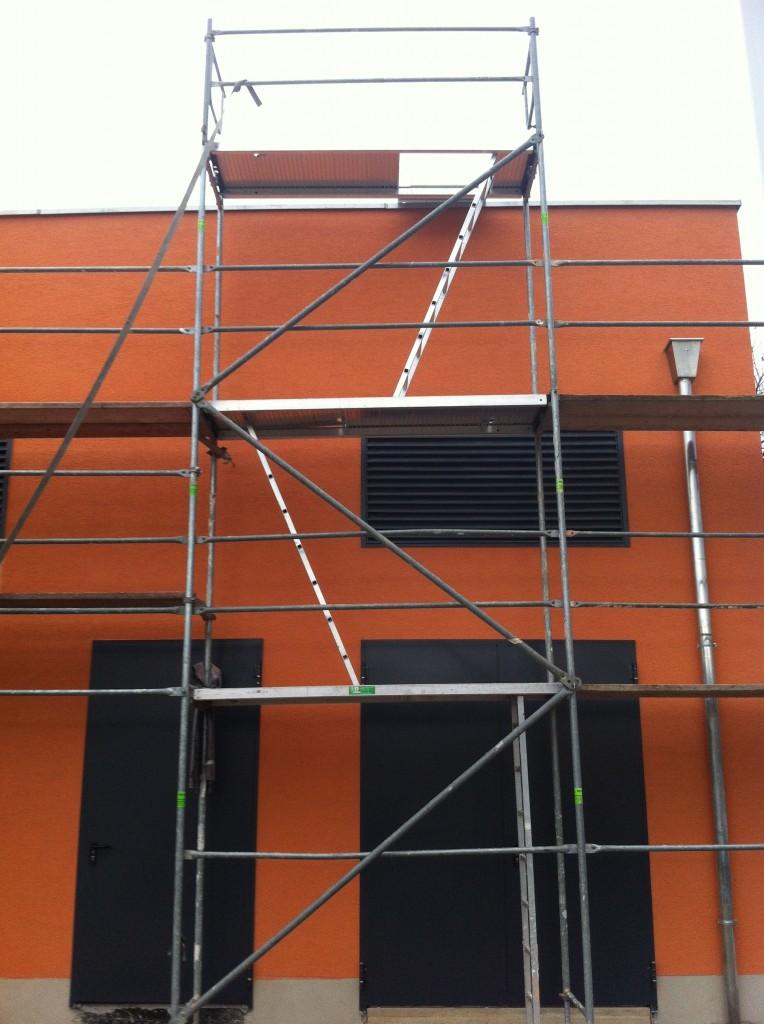 Putz Farbe Orange Köln