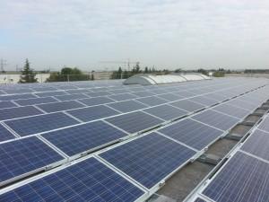 Photovoltaikmodule auf Dach