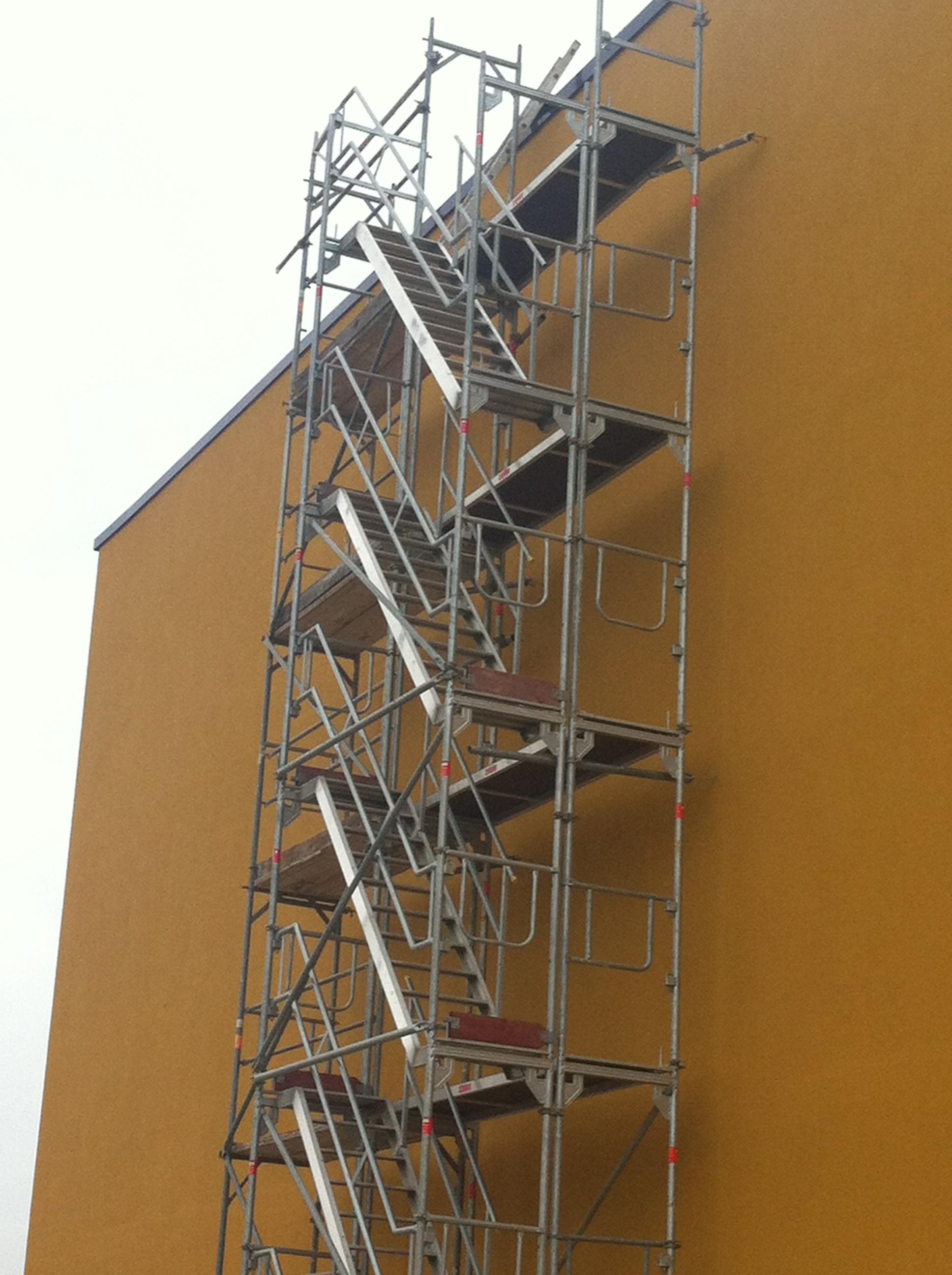Treppenturm Treppengeruest in Duesseldorf und Bonn