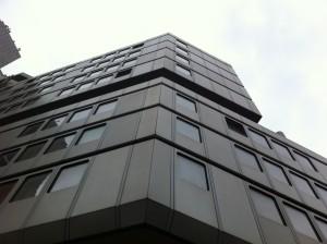 Fassade Hotel in Düsseldorf Mitte