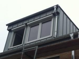 Neue Dachgaube