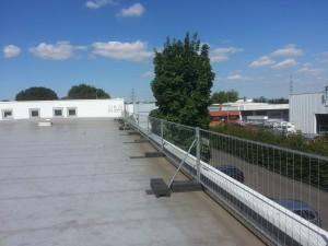 Absicherung Flachdach/Dach Absturzsicherung Düsseldorf