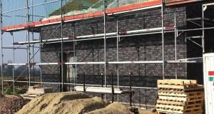 Heinsberg Geruest fuer Fassadenbau