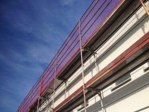 Baugerüst Brühl Dachdeckerschutznetz