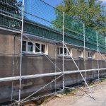 Baugerüst Troisdorf Fassade und Dach Arbeiten Altbau Sanierung