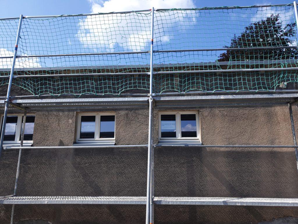 Gerüst Netz verbaut Ihr Gerüstbau Bonn Fachbetrieb!